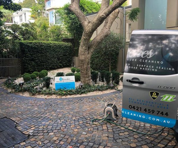 Exterior Cleaning Property Bellevue Hill