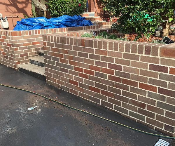 Residential Brick Cleaning After 2