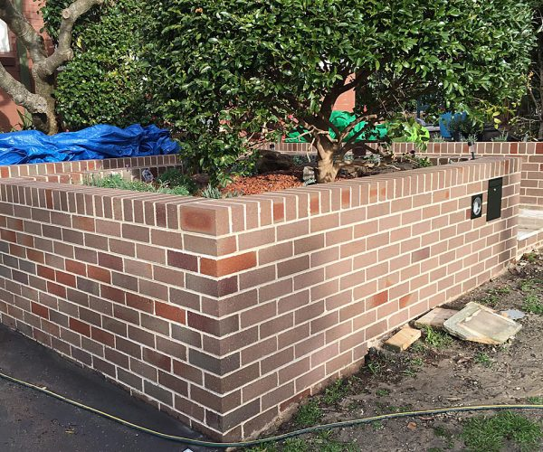 Residential Brick Cleaning After