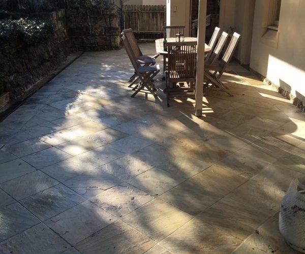 Sandstone Tiles After
